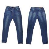 Jeans del denim del commercio all'ingrosso di svago del Knit degli uomini (il MIO -007)