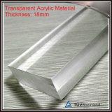 Étape mobile de mariage d'étape de bâti en aluminium avec la plate-forme acrylique