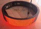 De aangepaste Volledige Cilinder van de Kleur/Ronde LEIDENE Vertoning met Gebogen Comité (P6, P3)