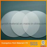 1.5mmスポットライトのための円形LEDの軽いプラスチック拡散器シート