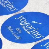 Качество изготовленный на заказ логоса главное цветастое умирает печатание цифров стикеров отрезока