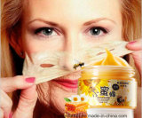 Masque de déplacement de point noir d'écaillement de miel de Googis hydratant le masque facial de blanchiment complexe