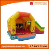 Раздувной оживлённый замок скольжения комбинированный для игрушки малышей (T3-020)