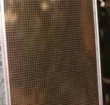 Feuille d'acier inoxydable en relief laminé à froid