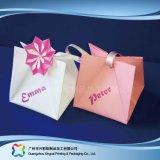 쇼핑 선물 옷 (XC-bgg-024)를 위한 인쇄된 종이 포장 운반대 부대