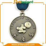 Médaille promotionnelle en métal de sport avec la bande