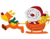 多彩なスノーマンのクリスマスの装飾の装飾