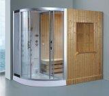 シャワー(AT-D8868)との2400mmの蒸気によって結合されるサウナ