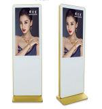 Señalización de doble cara LCD de Digitaces del soporte del suelo que hace publicidad del jugador (MW-321ATN)
