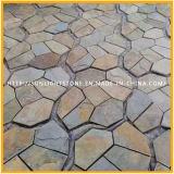 خارجيّ طبيعيّ حجارة رصيف ريفيّ/صدئة أردواز حجر لوحيّ
