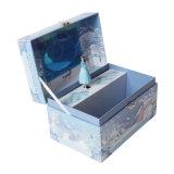 Caja de embalaje del regalo de papel de encargo profesional del fabricante con el bloqueo