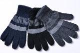 Цветастые Striped перчатки касания экрана касания связанные акриловые