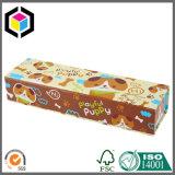 El alimento del perrito juega la caja de embalaje del papel del regalo de la cartulina