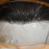 Brasilianisches Jungfrau-Haar-volle Spitze-Frauen-Perücke (PPG-l-0100)
