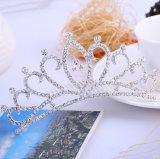 Оптовая цена искрясь крона венчания гребня волос сплава кристаллический