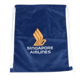 Saco de poliéster promocional, 210d saco para roupa suja, Dom saco, saco de desporto, voleibol de praia, saco de calçados
