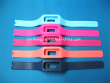 Waterproo Promotionnel à tête ovale réglable élastique Quick Release Silicone Wrist Watch Bands