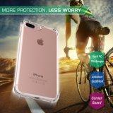 iPhone аргументы за крышки технологии Bumper мягкое TPU амортизации кристально чистый 7 добавочных 5.5-Inch