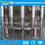 Máquina rotativa de la bebida del jugo con enjuague, llenando y sistema de embalaje