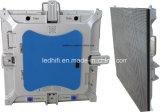 P3.91 실내 풀 컬러 단계 성과 임대 발광 다이오드 표시 Adveitising 전시는 주조 알루미늄 내각을 정지한다