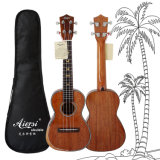 Aiersi полностью аппаратура твердого деревянного Ukulele чужая музыкальная