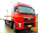 30-40 Tons Dry Van Truck para empresa express
