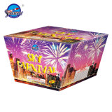 15 Shots Forme Fan Brocade Vague Gâteau Fireworks