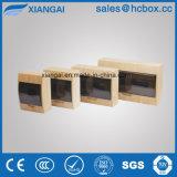 Caixa a mais nova de madeira plástica de Tsm da cor da caixa de distribuição da cor de Brown da caixa de distribuição