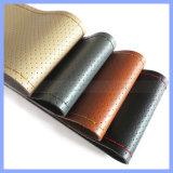 La fabbrica fornisce il coperchio cucito mano universale del volante del cuoio genuino di quattro stagioni 100%