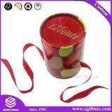 선물 상자의 둘레에 중국 빨간 형식 품목 포장