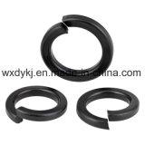 DIN 127 탄소 강철 검정 산화물 용수철 자물쇠 세탁기