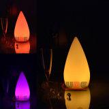 Ornements de Noël Décoration de lampe de table à LED avec lumière