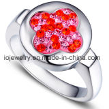 Double Hearts Stainless Steel Ring Base pour la fabrication de bijoux DIY
