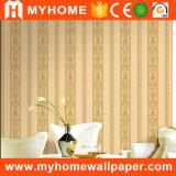 Papier peint italien décoratif bon marché de damassé de mur intérieur des prix