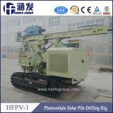 Hfpv-1移動式油圧機械太陽杭打ち