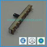 Fare scorrere la spinta del potenziometro il tipo Microminiature PWB dell'elemento del carbonio del potenziometro della maniglia