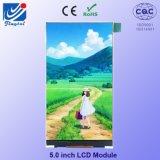 5.0 '' индикация размера TFT IPS малая для мобильного телефона LCD