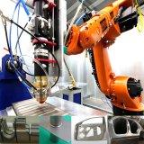 Рукоятка робота вырезывания лазера 3D волокна сварочного аппарата GS-Lf3da нержавеющей стали
