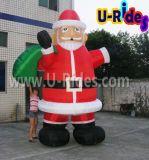 Santa Claus Inflatable Christmas Cartoon for Decoration