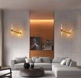 A lâmpada de parede moderna do diodo emissor de luz do quarto do projeto maravilhoso ilumina Ligthing para a leitura