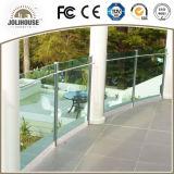 Balustrade fiable personnalisée par usine d'acier inoxydable de fournisseur de qualité avec l'expérience des modèles de projet