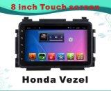 Honda Vezel 8 인치 용량 스크린을%s 차 영상에 있는 인조 인간 시스템 GPS 항법 차 DVD를 위해