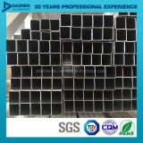Perfil de aluminio de la protuberancia para la talla modificada para requisitos particulares tubo cuadrado del tubo del rectángulo
