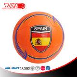 Sfera di calcio durevole di sport di formato 5 del PVC di promozione di Espain
