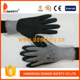 2017 Ddsafety вырезать сопротивление песчаных твердотельное нитриловые перчатки