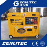 Легко обслуживайте электрический генератор тепловозной силы 5kw молчком