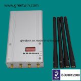 Bloqueador de sinal portátil de 8 bandas Sinal do telefone móvel 2.5dBi Antenas Omni