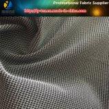 Poliéster Spandex Stereoscopic Check Garment Tecido Têxtil Fornecedor de Têxtil (R0078)