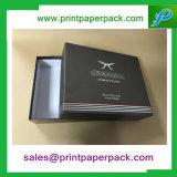 Deux parties de parfum rigide de carton de gâteau d'emballage de boîte-cadeau cosmétique de papier