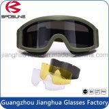 Venta caliente de TPU duradero altamente Claridad de gafas de visión nocturna Gafas de tiro militar de seguridad